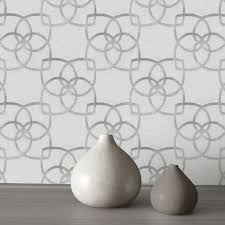 Silver Metallic Wallpaper by Classic Wallpaper Precious Silks Marrakech Murivamuriva
