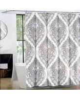 here u0027s a great deal on peri fabric shower curtain charcoal beige