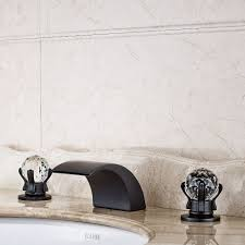 Oil Rubbed Bronze Widespread Bathroom Faucet by Online Get Cheap Oil Rubbed Bronze Waterfall Bathroom Faucet