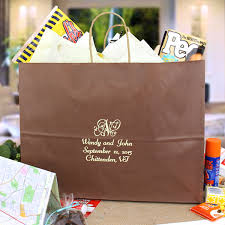 wedding gift bags for hotel welcome wedding bags personalized my wedding reception ideas