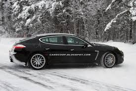 Porsche Panamera Jeep - scoop facelifted porsche panamera makes another appearance