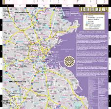 Freedom Trail Map Boston by Streetwise Boston Map Laminated City Center Street Map Of Boston