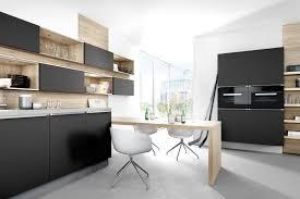 cuisine noir mat et bois cuisine noir et bois large size of fr gemtliches