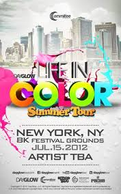 ra dayglow new york in color sunday july 15 at bk festival