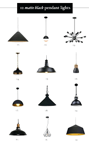 Black Pendant Lights For Kitchen Matte Black Mini Pendant Light Fixture Black Pendant Kitchen