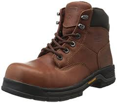 womens steel toe work boots near me amazon com wolverine s harrison steel toe safety boot shoes