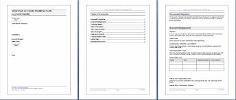 strategic plan templates resume template