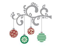 hanging ornament wall decal weedecor