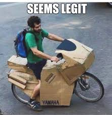Funny Motorcycle Meme - yamaha s new model is a bit box y imgflip