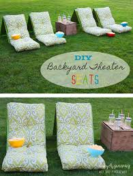 Backyard Theater Ideas Outdoor Theater Seats Risenmay