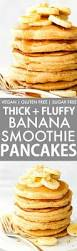 Pancake Flour Fluffy Flourless Banana Smoothie Pancakes Vegan Gluten Free