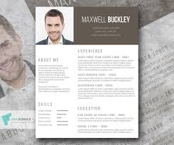 awesome resume templates the headline a modern and unique resume template freebie