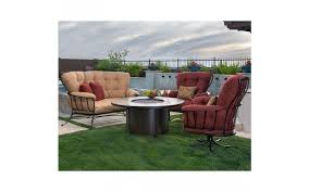Lee Patio Furniture by Ow Lee Monterra Spring Base Club Chair Canyon Russet