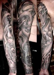 And Demons Sleeve Tattoos Paul Booth Flash Tattoos Horror Tattoos Page 8