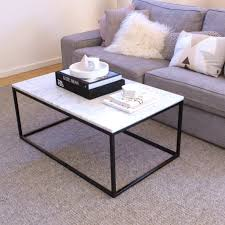 Marble Coffee Table Carrara Marble Coffee Table Immy Indi