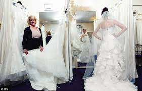 Wedding Shops A Bridal Gown That Tells A Story Cameras Follow 3 Very Different