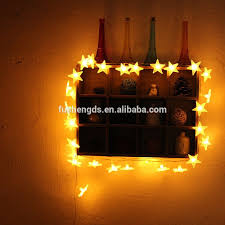 Home Decorative Lights 20 Led White Hearts Rattan Ball String Lights For Home Decoration