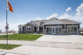 Home Plans Utah Katrina Rambler House Plan Utah Home Edge Homes Building Plans