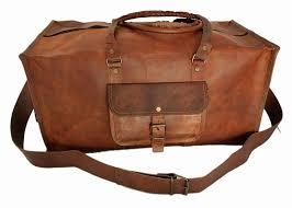 mens travel bag images Handmade mens travel bag genuine leather duffel jpg