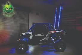 led light whip for atv led whip lighted whips tribal whips
