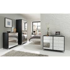 Black And Mirrored Bedroom Furniture Bedroom Wondrous Mirrored Bedroom Furniture With Elegant Interior