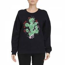 sweater brands just cavalli sweatshirt sweater summer 2017 blue