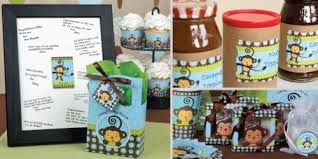baby shower centerpieces boys monkey boy baby shower decorations theme babyshowerstuff