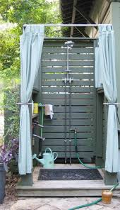 Outdoor Shower Curtains 30 Cool Outdoor Showers To Spice Up Your Backyard Architecture