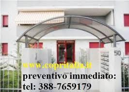 pensilina tettoia in policarbonato plexiglass pensilina tettoia in policarbonato plexiglas 149 annunci