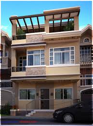 3 storey house 3 storey house design roof deck house interior