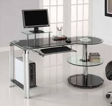 modern glass work desk design work modern otbsiucom modern glass office desk otbsiucom