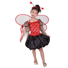 Fairy Princess Halloween Costume Red Ladybird Costume Children Cute Fairy Princess Halloween