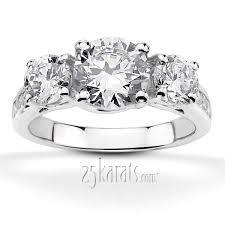 wedding rings setting images Three stone diamond rings settings wedding promise diamond jpg