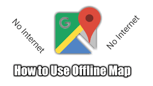 Offline Map How To Use Map Without Data Connection Offline Map Youtube