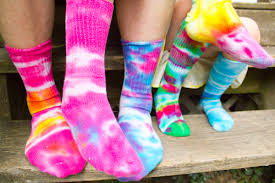 how to tie dye socks with food coloring the printing life