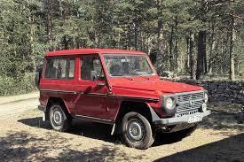 mercedes benz jeep red personbil mercedes benz geländewagen 230g bukowskis