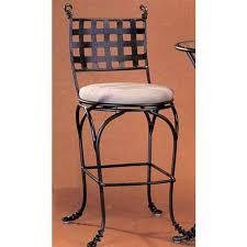 Vine Chair Iron Swivel Bar Stool Bellacor