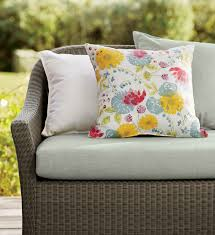 Crate And Barrel Patio Cushions bridgewater updates the romantic look of cottage wicker with