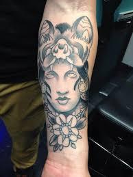 bat headdress ganesha tattoo artist sid lopes tattoo for