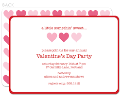 Format Invitation Card Simple Valentine U0027s Day Party Invitation Card Template With Orange