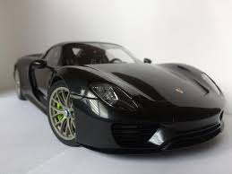 black porsche 918 1 18 autoart porsche 918 spyder black porsche ruf