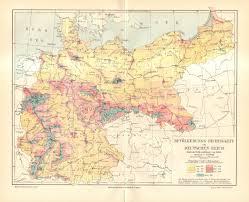 Canada Population Density Map by 1902 Original Antique Population Density Map Of The German