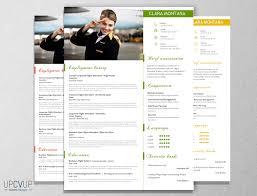 Template Cover Letter For Resume Cabin Crew Flight Attendant Modern Resume Cv Template Cover