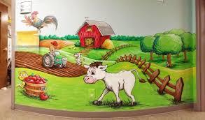 free sky studios professional mural painting sign painting and farm landscape mural painting
