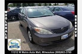 toyota milwaukee used toyota camry for sale in milwaukee wi edmunds