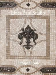 Tile Medallion Backsplash by Kitchen Backsplash Murals Mosaic Medallions And Accent Tiles