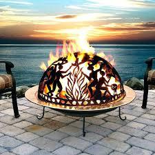 Ceramic Firepit Ceramic Bowls Outdoor Ceramic Pit Logs Pit Logs