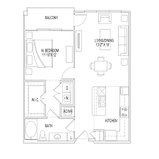 Crown Hall Floor Plan Village At Palm Center Ost South Union Apartments