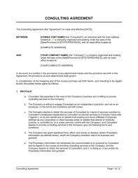 28 it consulting contract template 25 consulting agreement