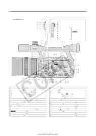 canon xh g1 xh g1 xh a1 instruction manual page 10